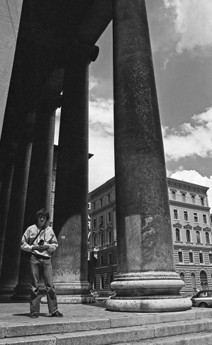 preparando gli esami, 1977, Trieste