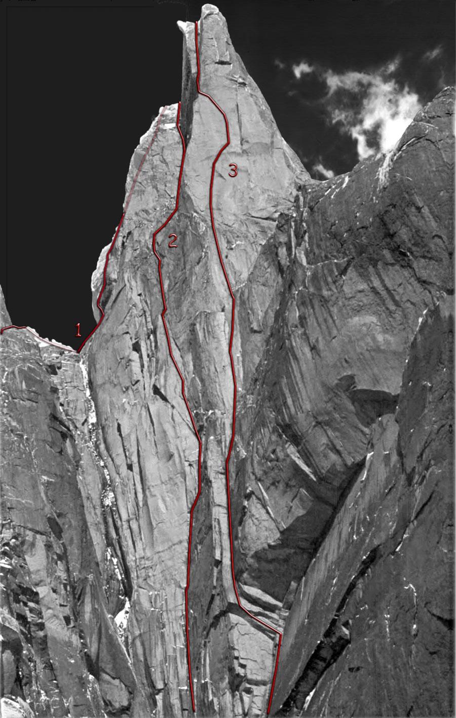 Le linee effimere della Torre Egger Psychobadlansforweb