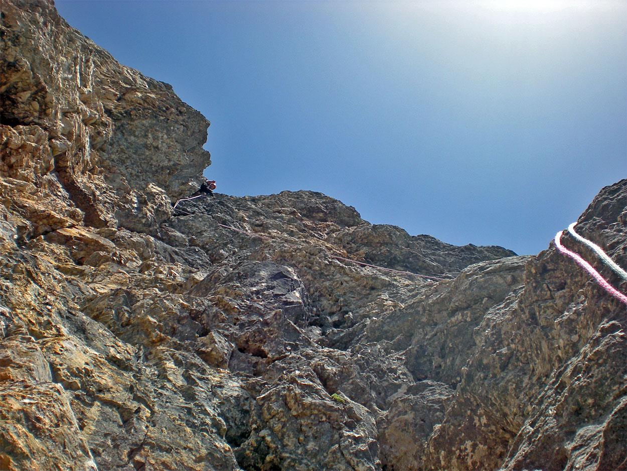 Sass Maòr, la supermatita delle Dolomiti Casiglioni