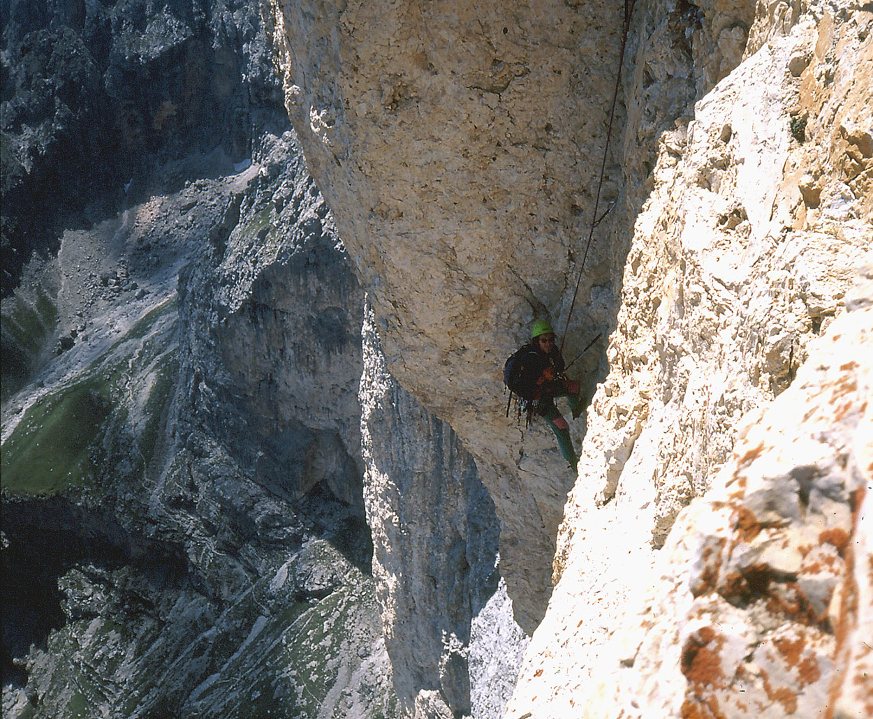 Sass Maòr, la supermatita delle Dolomiti Sass_mae280a2r-via_giancarlo_biasin_1-_foto_francesco_lamo