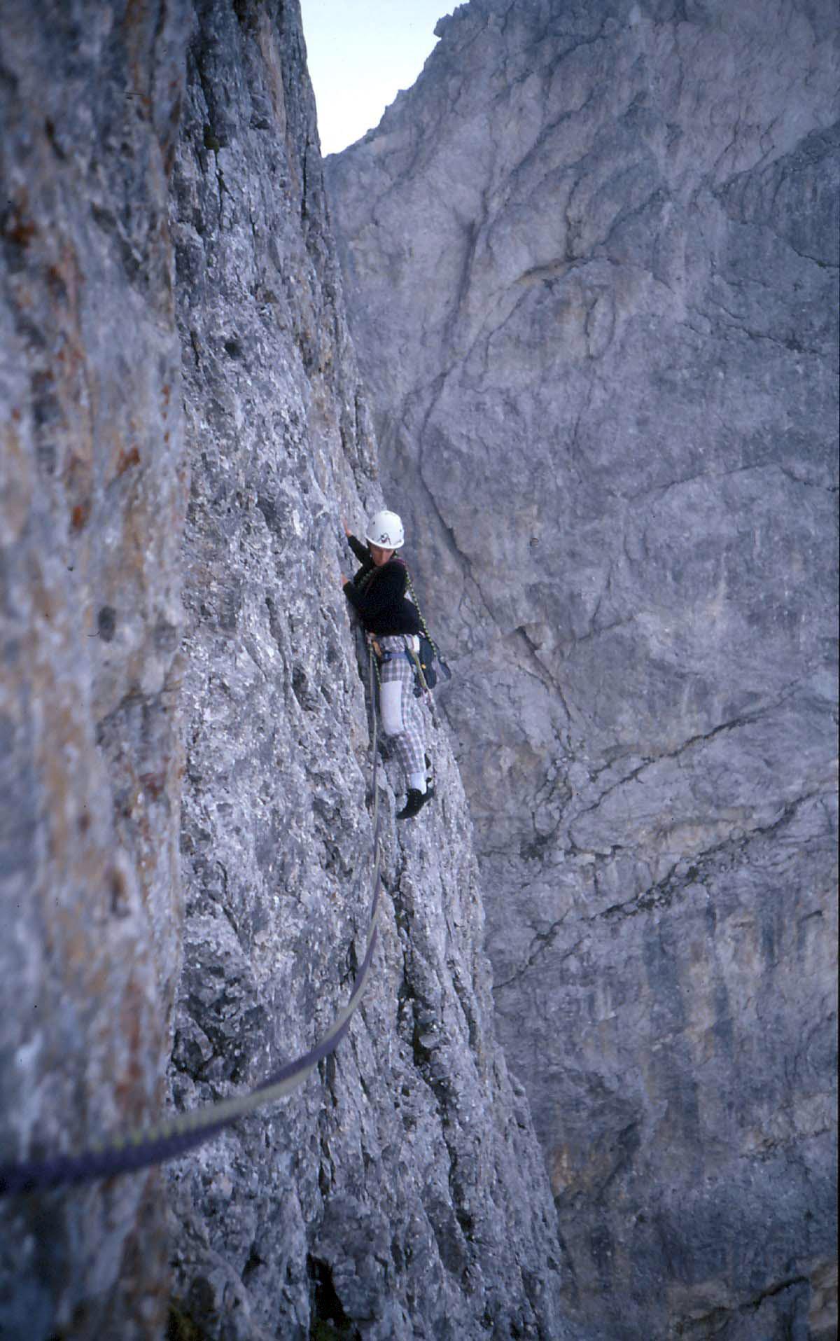 Sass Maòr, la supermatita delle Dolomiti Sass_maor-via_alessio_massarotto_2_-_foto_claudio_moretto
