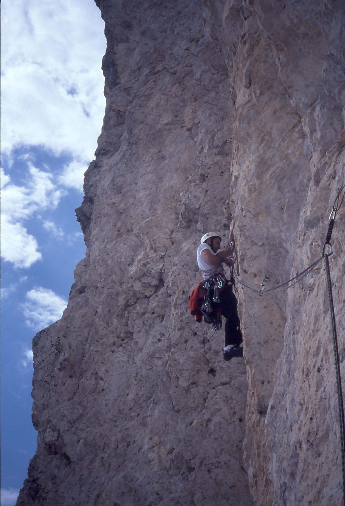 Sass Maòr, la supermatita delle Dolomiti Sass_maor-via_g-_biasin_3-arch