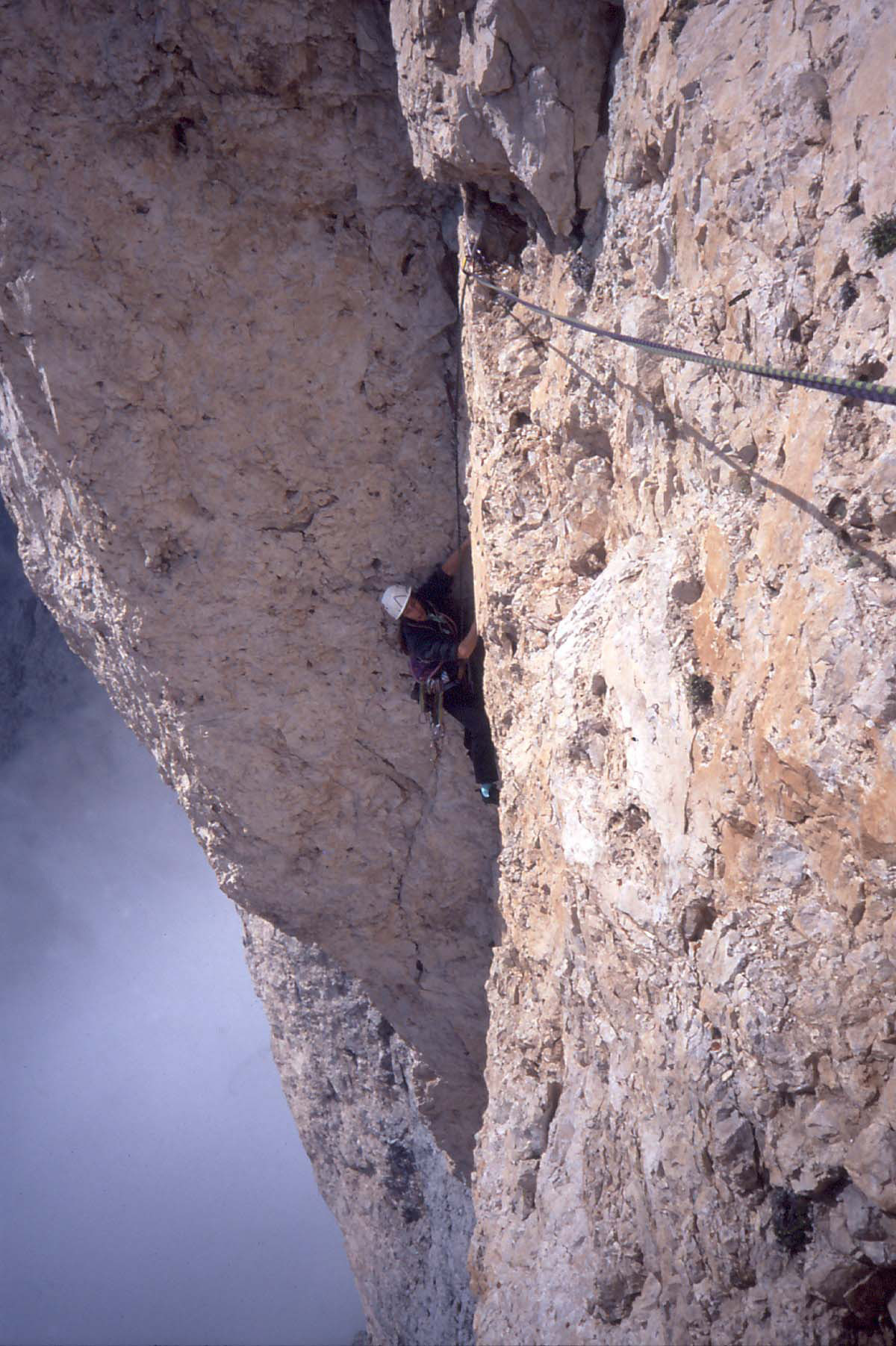 Sass Maòr, la supermatita delle Dolomiti Sass_maor-via_g