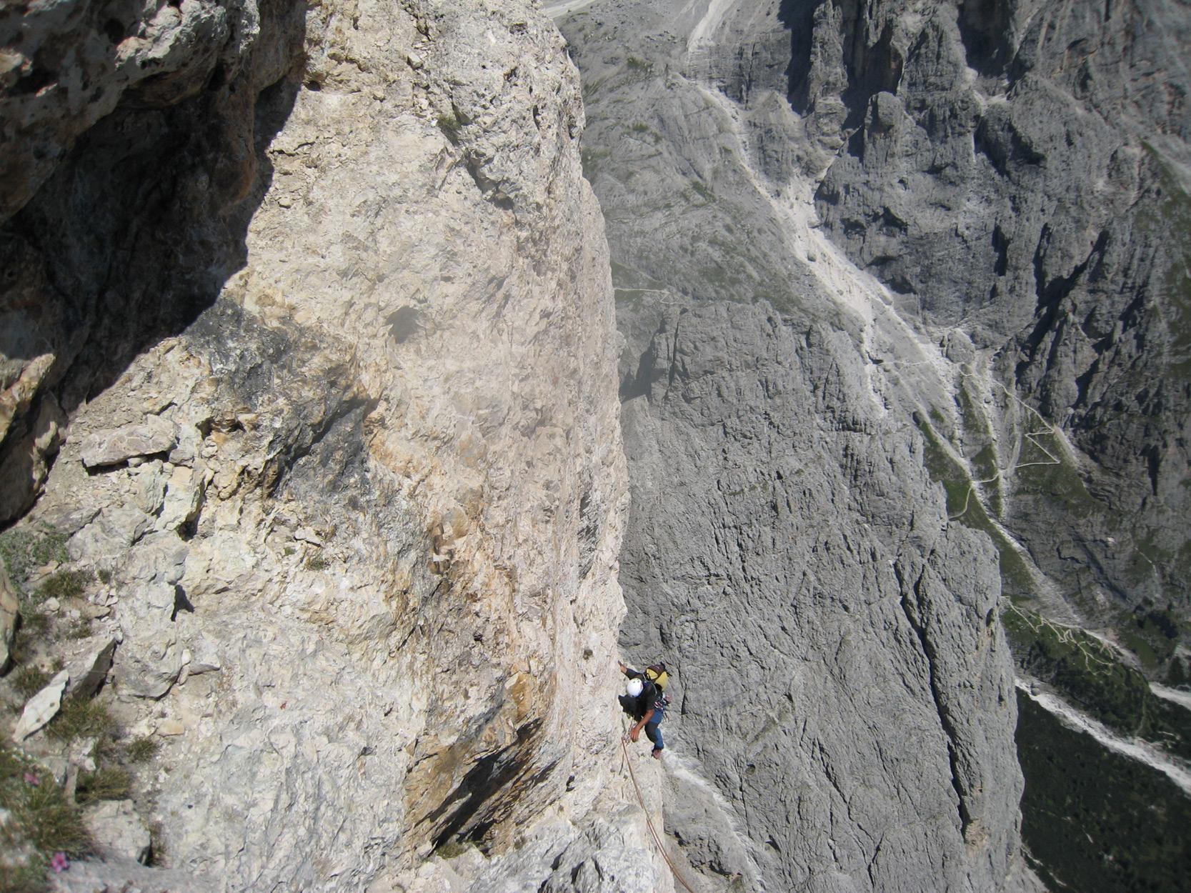 Sass Maòr, la supermatita delle Dolomiti Sass_maor_via_solleder_kummer_-_foto_marco_cabbia
