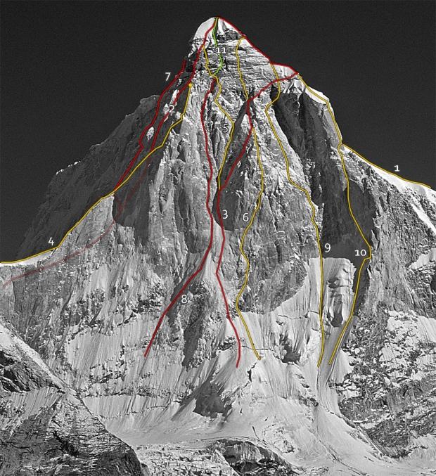 Foto di Melvin Redeker. Tracciati a cura di Alpine Sketches