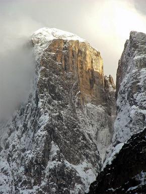 La severa nord ovest in pieno inverno. Foto di Ettore De Biasio.