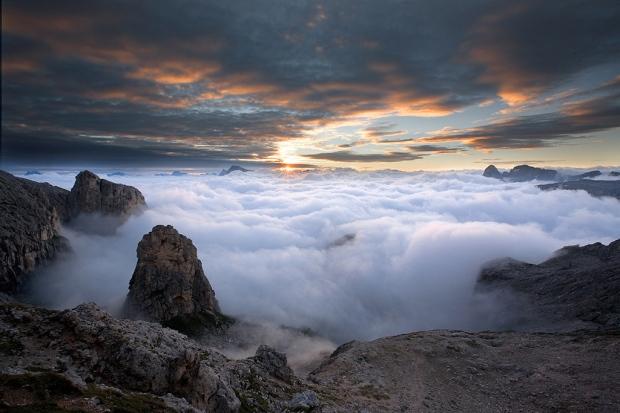 Sopra il mare di nubi
