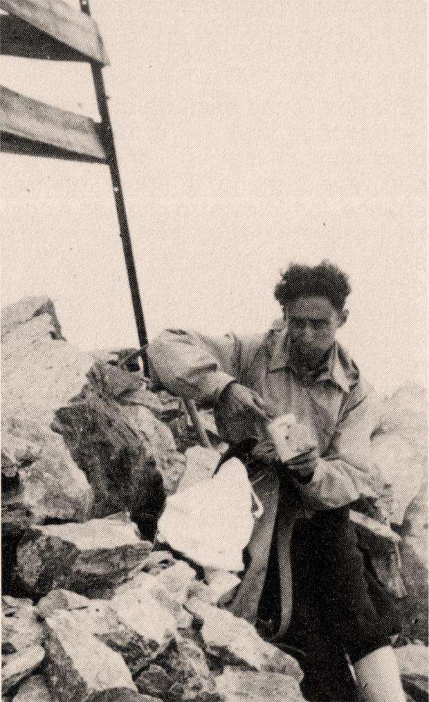 Sulla vetta del Disgrazia, 1942