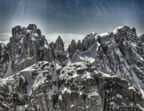 Pale di Focobon. Foto di Stefano Lovison